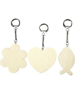 Keyhanger, size 6-7 cm, thickness 3 mm, 12 pc/ 1 pack