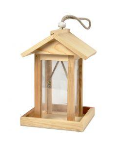 Bird Feeding House, H: 21.5 cm, L: 14.5 cm, W: 14,5 cm, 1 pc