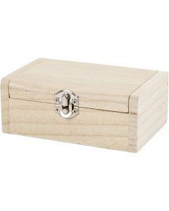 Jewellery Box, H: 4.5 cm, L: 11.5 cm, W: 7,5 cm, 1 pc