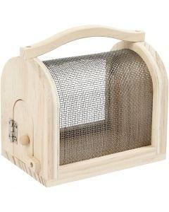 Insect Cage, H: 10,5 cm, L: 11 cm, W: 7,5 cm, 1 pc