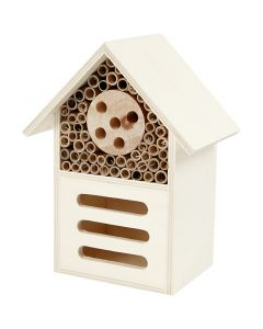 Insect and butterfly hotel, H: 18 cm, W: 14 cm, 1 pc