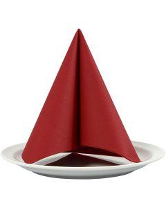 Table Napkins, size 40x40 cm, 60 g, claret, 20 pc/ 1 pack