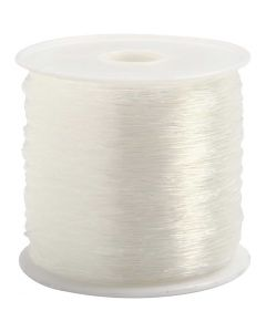 Elastic Beading Cord, round, thickness 0,5 mm, 100 m/ 1 roll