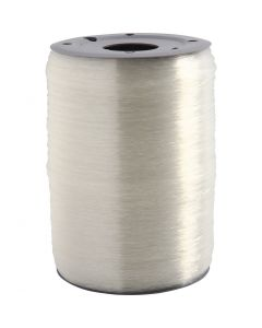 Elastic Beading Cord, round, thickness 0,5 mm, 1000 m/ 1 roll