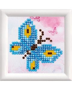 Diamond Dotz , Butterfly Sparkle, size 7,6x7,6 cm, 1 pack