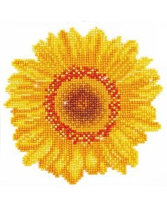 Diamond Dotz, Happy Day Sunflower, size 20x20 cm, 1 pack