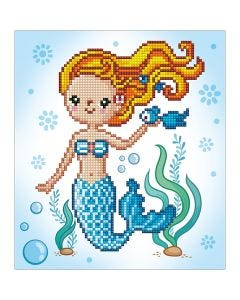Diamond Dotz, Sweet Swimmer, size 20x20 cm, 1 pack