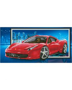 Diamond Dotz, Ferrari, size 40x50 cm, 1 pack