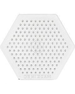 Peg Board, H: 7,5 cm, transparent, 1 pc
