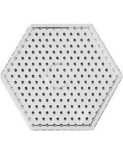 Peg Board, hexagon, JUMBO, transparent, 5 pc/ 1 pack