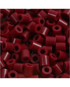 PhotoPearls, size 5x5 mm, hole size 2,5 mm, claret (4), 1100 pc/ 1 pack