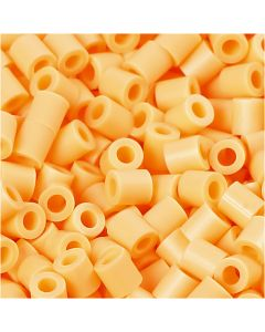 PhotoPearls, size 5x5 mm, hole size 2,5 mm, light orange (26), 6000 pc/ 1 pack