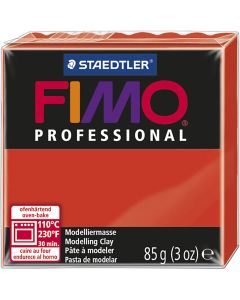 FIMO® Professional Jewellery Clay, red, 85 g/ 1 pack