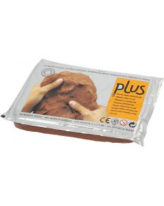 Self-Hardening Clay, terracotta, 12x1000 g/ 1 pack