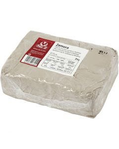 Stoneware clay, off-white, 5 kg/ 1 pack