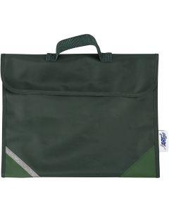 School Bag, size 36x29 cm, green, 1 pc
