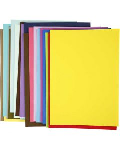 EVA Foam Sheets, A3, 297x420 mm, 20 ass sheets/ 1 pack