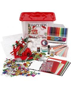 Craft Box Set, assorted colours, 1 pc