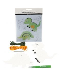 Mini Creative Kit, dinosaur, 1 set