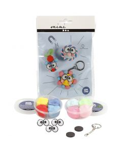 Mini Creative Kit, figures with big eyes, 1 set