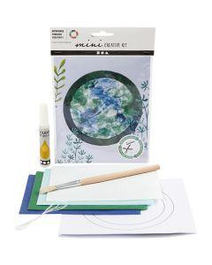Creative mini kit, Sun catcher/mobile, 1 set