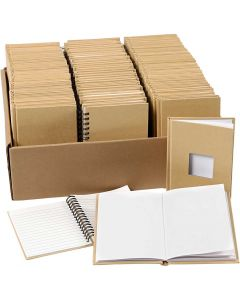 Notebooks, A6, size 10,5x15 cm, 3x32 pc/ 1 pack