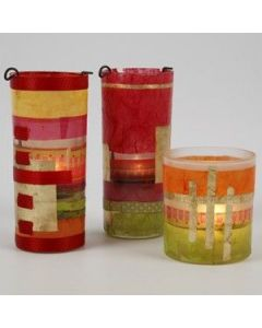 Enchanting Candle Holders with Gold