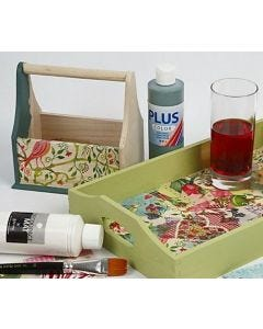 All-round Medium, Decoupage Lacquer and glue