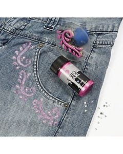 Uniq Pearl and Glitter Paint Effects for Textiles