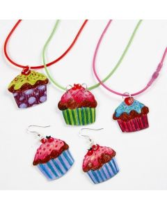 Jewellery with Cupcakes