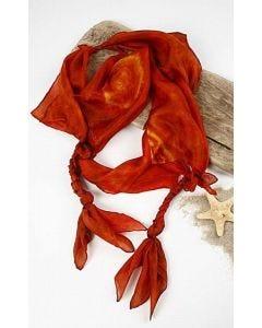 Silk Jewellery Scarf