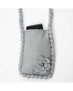 A Mobile Phone Bag in Felt