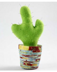 A Cactus in a Paper Pot