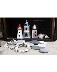 Lighthouses with A-Color Glaze
