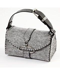 A Trendy Bag sewn from Felt