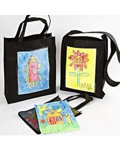 Bags with Children's Art