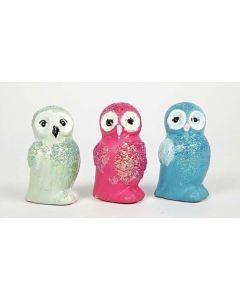 Glitter Owls