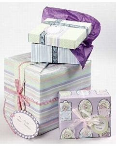 Boxes beautifully wrapped in (Bremen) Design Paper