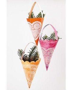 Cones with Doilies