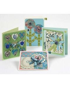 Multi Patterned Greeting Cards