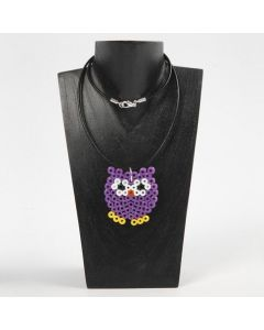 A Necklace with a Bead Pendant