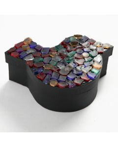A Box with Plastic Mosaic