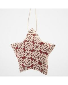 A Folded Paper Star