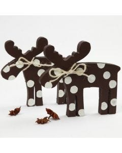 A Moose with 3D Snow Effect