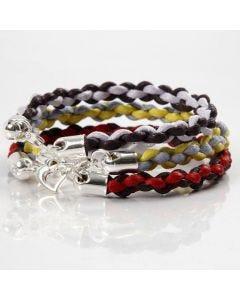 Braided Bracelets using the Japanese Technique, Kumihimo