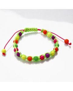 Braiding with Neon Beads