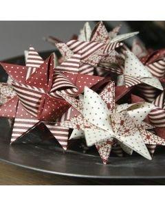 A woven German Star