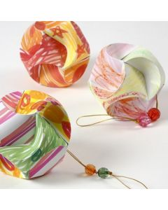 Click Ornaments decorated with Colortime Markers