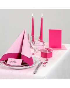 Party Inspiration with pink and rose Table Decorations etc.