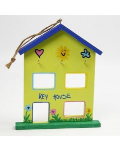 A decorated House for hanging your House Keys